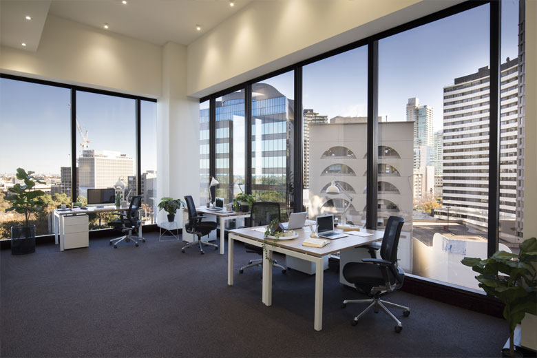 Office at St Kilda Rd Towers