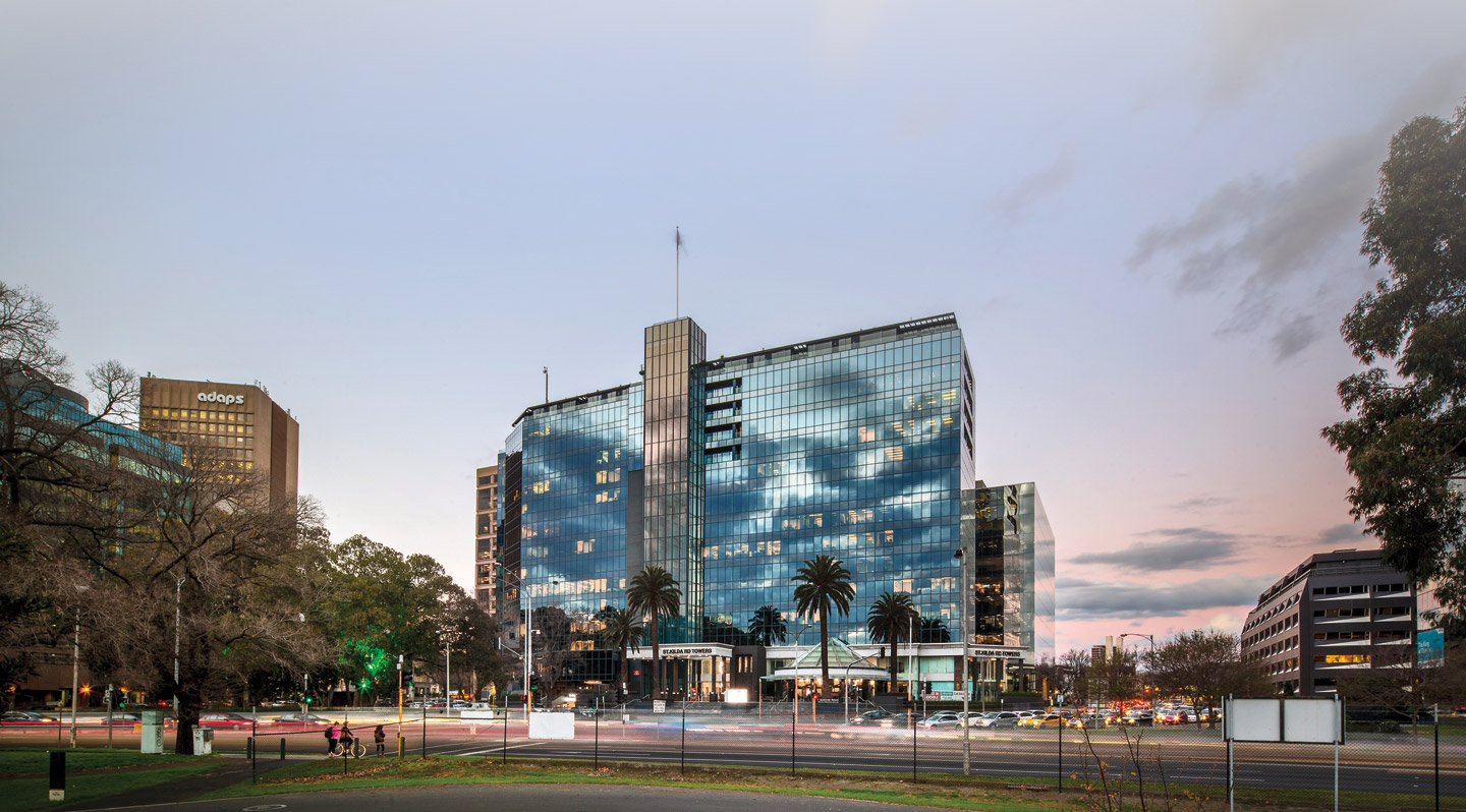 St Kilda Road Towers Photo Gallery